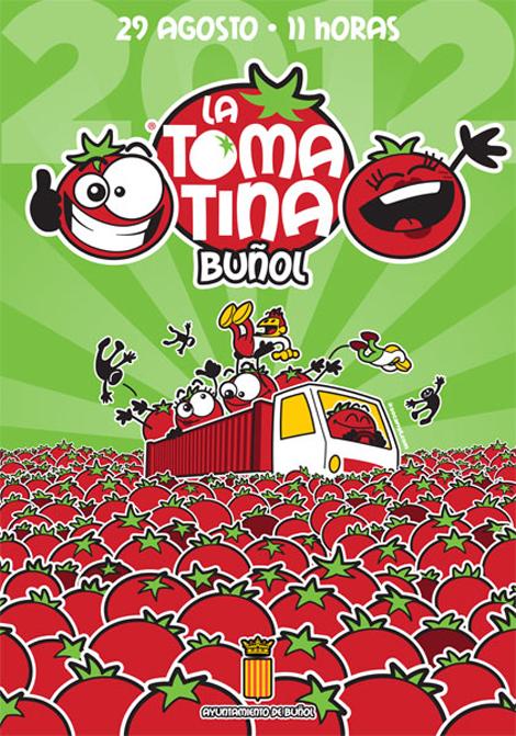 Cartel Tomatina 2012 okok