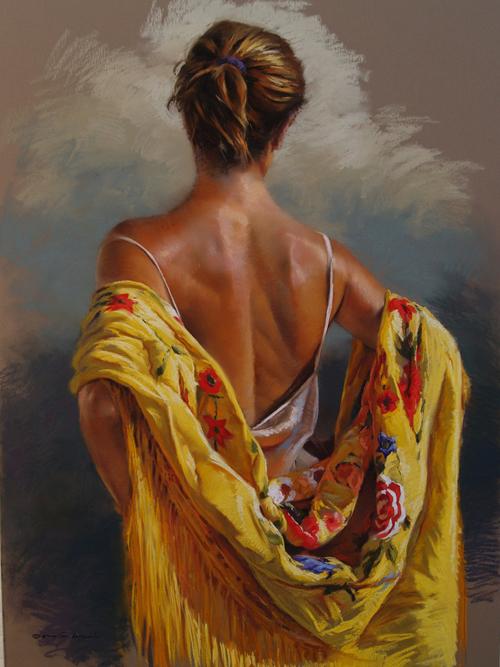 El mantón amarillo...