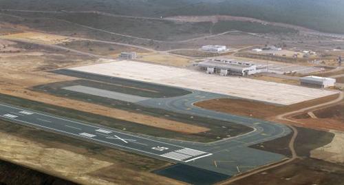 aeropuerto castellon vista aerea