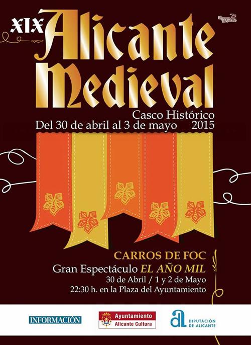 alicante-medieval-2015-cartel
