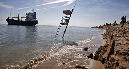 barco encallado el saler