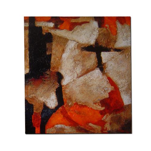 cuadro-pintura-abstracta-informalista-original Eliseo Blanes
