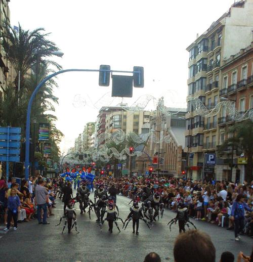 desfile hogueras 2015