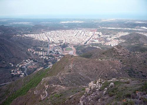 panoramica de la vall d´uxo